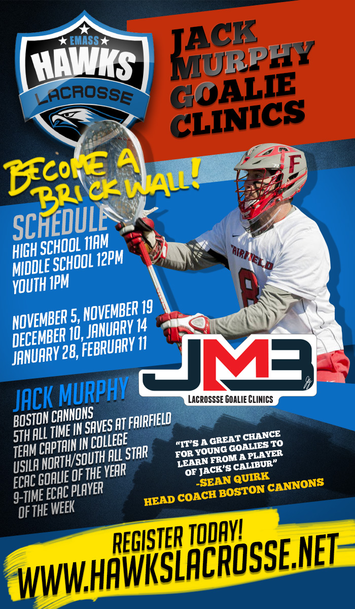 Jack Murphy Goalie Clinic Series
